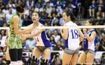 Mika and Bea in a face-to-face encounter.