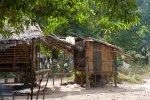 The Tagbanuas would normally have a separate hut for their kitchen.