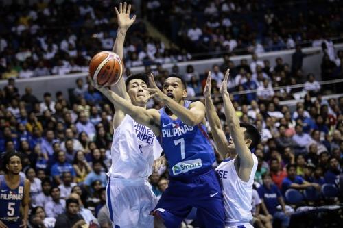 FIBA Gilas Pilipinas vs Chinese Taipei