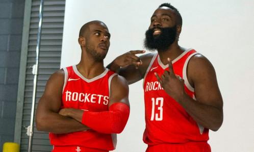 USP NBA: HOUSTON ROCKETS-MEDIA DAY S BKN USA TX