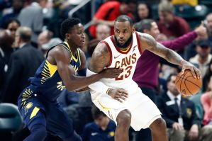 Cavs almost get the upset axe from the Pacers (Fear The Sword)