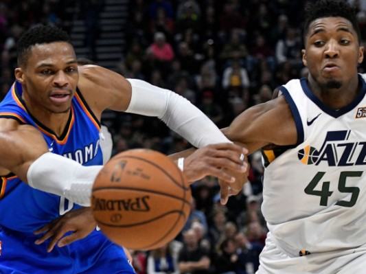Jazz upset the Thunder in Rd 1 of the Playoff (Five Thirty Eight)