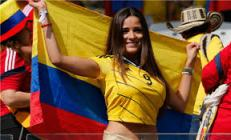 - a cool Colombian cheerer (Silly Season)