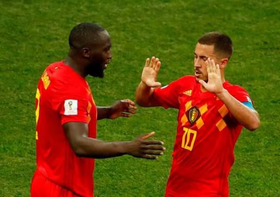 "- Belgium""s Lukaku and Hazard (Evening Standard)"