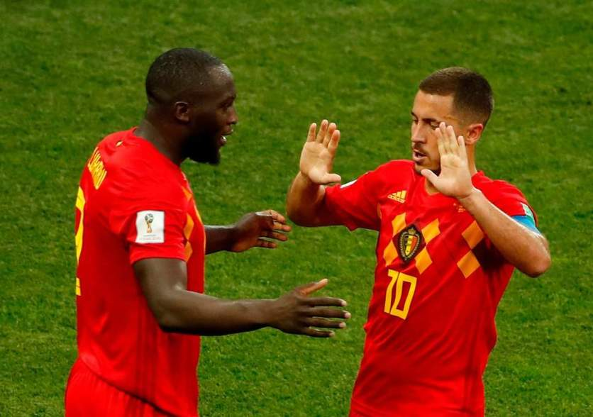 "- Belgium""s Lukaku and Hazard (Evening Standard)"