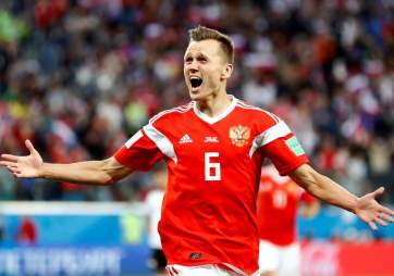 - Russian leading scorer, Denis Cherishev (Evening Standard)