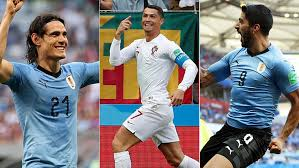 - The 3 main actors: Cavani, Ronaldo and Suarez. (Marca)