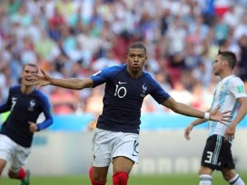 - Mbappe with his signature swag after a goal. (NDTV Sports)