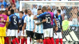 - The present meets the future as Messi and Mbappe embrace. (Market Watch)