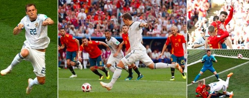 - Sizzling soccer spectacles as Russia shoot down the Spaniards. (Total Sportek)