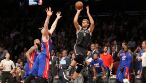 Brook Lopez, the Bucks' 3 and D center. (Elite Sports NY)