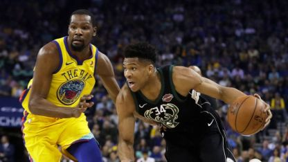 Giannis and Kevin can play both wings and big-man roles. (Yahoo! Sports)