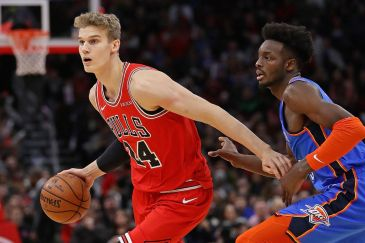 Lauri Markkanen is a lanky Dirk-type operator ready to bloom. (Chicago Tribune)