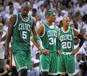 Kevin Garnett, Paul Pierce and Ray Allen (Boston.com)