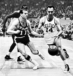 LA_Boston rivalry in the 50s. (Pro hoops History)