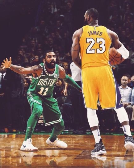 A Lebron-Kyrie duel would have been a great storyline for the NBA Finals. (Sportskeeda)