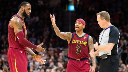 The Lebron James - Isaiah Thomas partnership didn't last long. (Sporting News)