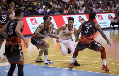 Protecting the paint. (PBA)