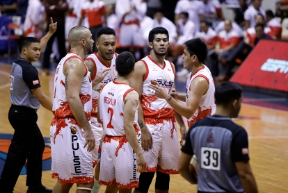Team chemistry, a key to success. (PBA)