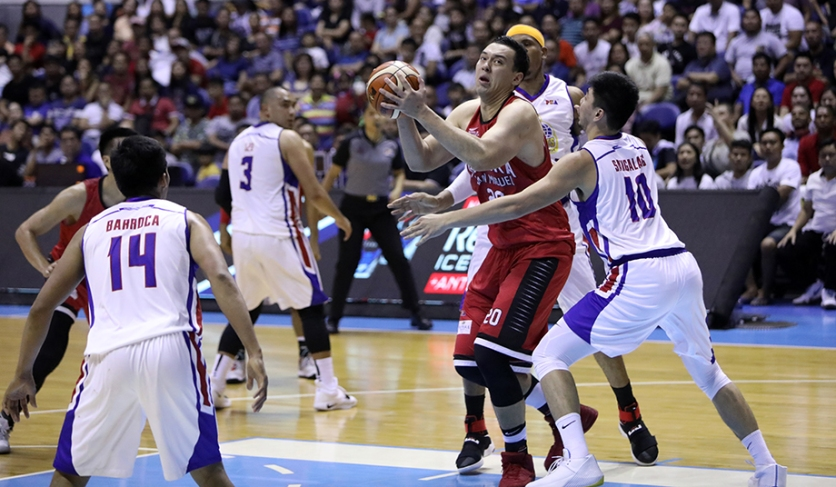 Greg Slaughter takes the shaded lane.