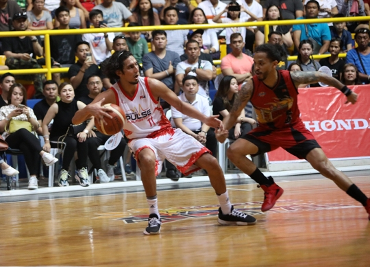 Alex Mallari provides more blue collar speed and savvy.
