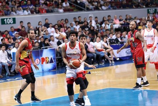 JP Mendoza's help defense is big.