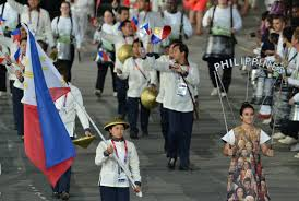 Philippine team off to compete. (Inside the Games)