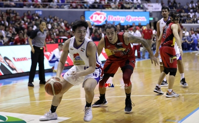 Ian Sanggalang slithers past Christian