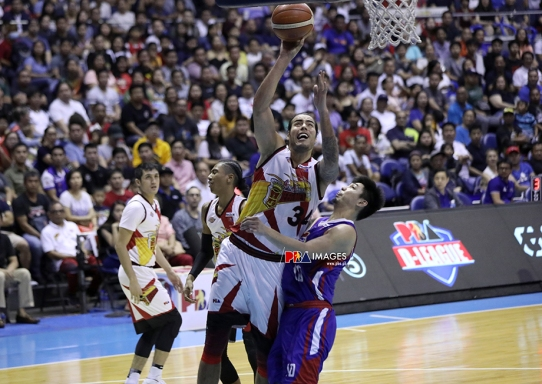 Christian Standhardinger, the other tower of power.