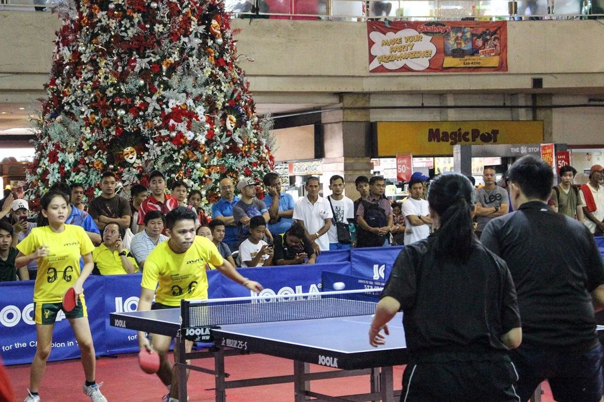 How Peping Annexed Philippine Table Tennis