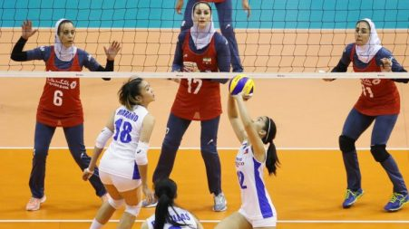 Nationals against Iran (Volleyverse)