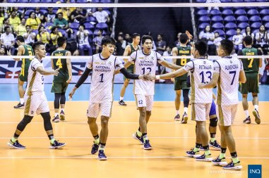 NU took the last UAAP men's crown. (Inquirer Sports)