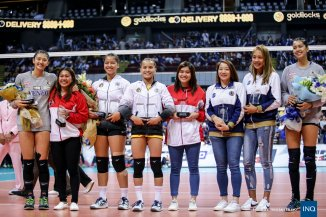 Sisi Rondina lead the individual awardees. (Inquirer Sports)