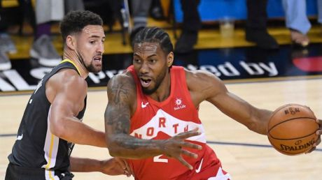 But come the finals, Kawhi is showing them what a different beast he was. (Canada Sports)